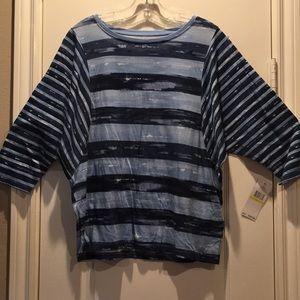 NWT Tommy Hilfiger Three-Quarter Length Shirt